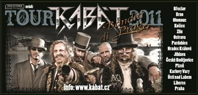 Kabát  Banditi di Praga Tour 2011 v Jihlavě  8cc1f63c238
